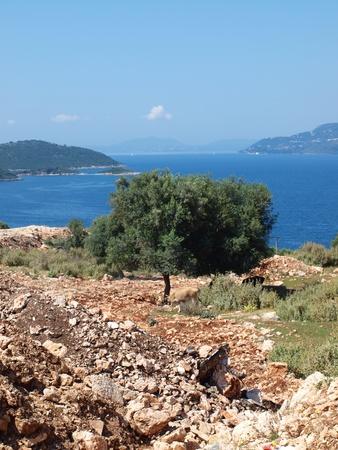 albanian: Albanian landscape Stock Photo