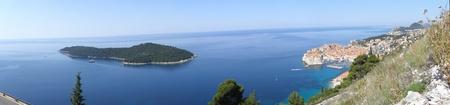 srd: Dubrovnik and Locrum Island, Croatia