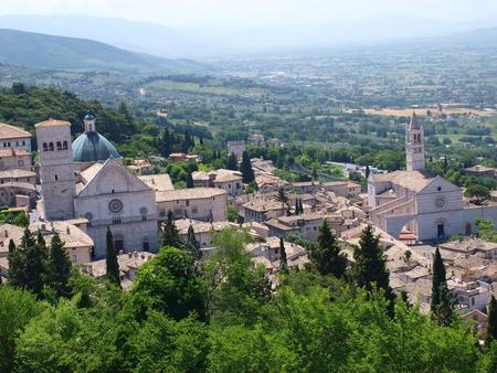 Assisi panorama, Italy photo