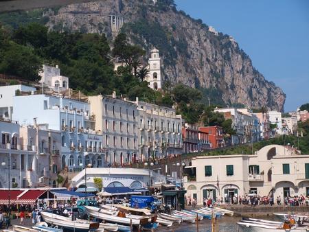 Capri on Capri Island, Italy Stock Photo - 9890583