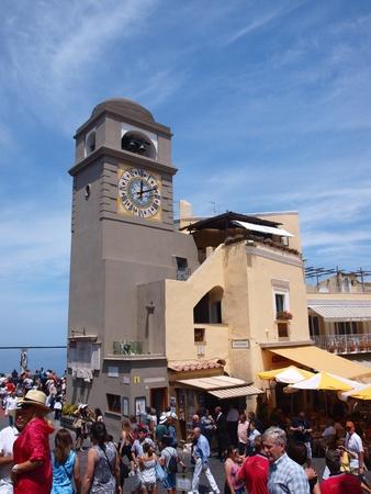 Piazza Umberto I, Capri, Capri Island, Italy