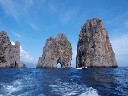 capri: Faraglioni, Capri, Italy