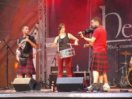"celt: 4th edition of the International Festival of New Folk Music ""HelloFolks Lublin 2011"", (6th-7th August 2011, Lublin, Poland), 6th Aug. 2011, Lublin, Poland"