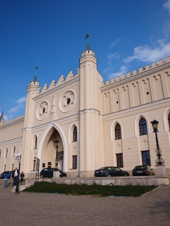 lubelszczyzna: The castle in Lublin, Poland, being home to the Regional Museum.