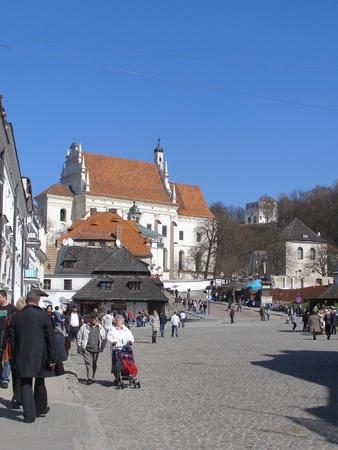 lubelszczyzna: Market square in Kazimierz Dolny, Poland