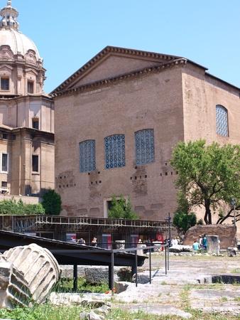 Curia Julia, Forum Romanum, Rome, Italy