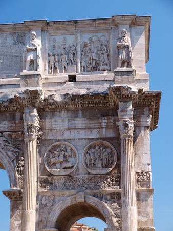 constantine: The Arch of Constantine The Great, Rome, Italy