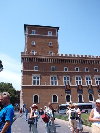 Palazzo Venezia on Piazza Venezia, Rome, Italy Stock Photo - 11366522