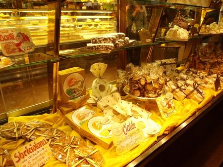 Cake shop, Montecatini Terme, Italy Editorial