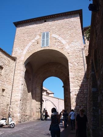 Porta Santa Chiara, Assisi, Italy