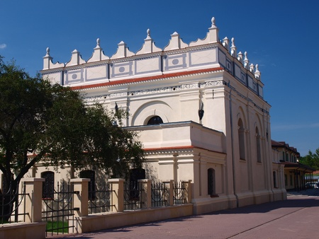 lublin: The old Jewish synagogue, Zamosc, Poland Stock Photo