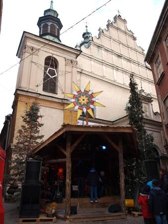 lublin: Christmas cradle, Lublin, Poland