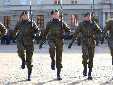 lubelszczyzna: The celebrations of the Independence Day, 11th November, 2011, Lublin, Poland