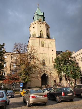 lublin: Trynitarska Tower, Lublin, Poland