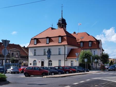 wielkopolskie: Cityhall in Kornik, Poland