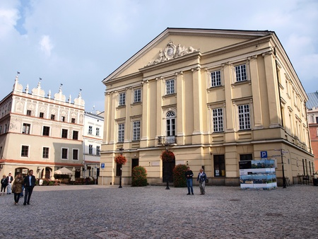 tribunal: Crown Tribunal, a former appeal court in the historic old town of Lublin, Poland Editorial