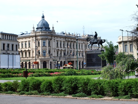 polish lithuanian: Litewski Square in Lublin, Poland