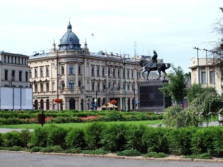 lubelszczyzna: Litewski Square in Lublin, Poland