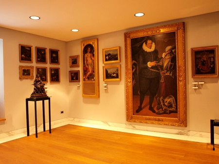 One of the rooms in the San Marino State Museum, San Marino Editorial