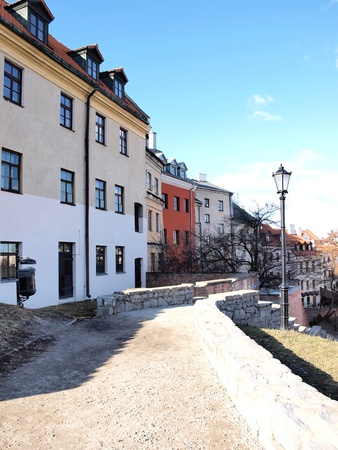 The old town of Lublin, Poland