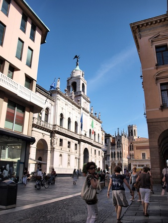 maroni: Palazzo Maroni, the city hall, Padua, Italy Editorial
