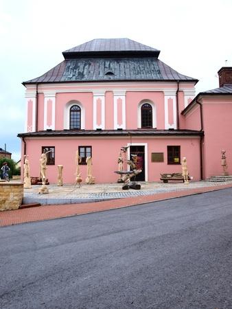 Jewish synagogue, Szczebrzeszyn, Poland