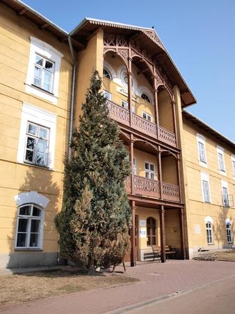 sanitarium: Prince Joseph sanatorium house, Naleczow, Poland