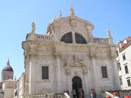 The church of St. Blaise, Dubrovnik, Croatia