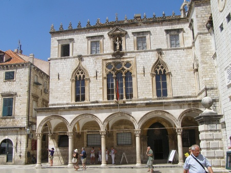 The Sponza Palace, Dubrovnik, Croatia