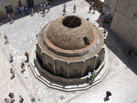 Big Onofrio Fountain, Dubrovnik, Croatia Editorial