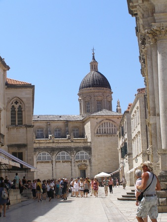 The Assumption of the Virgin Mary Cathedral, Dubrovnik, Croatia Stock Photo - 13141504