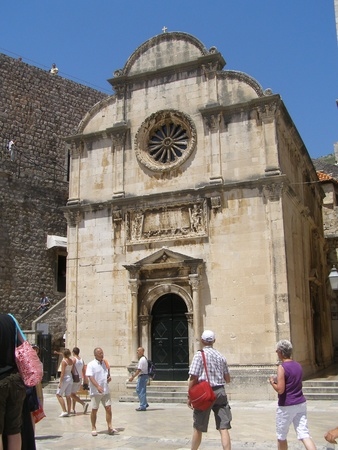 St. Saviour church in Dubrovnik, Croatia