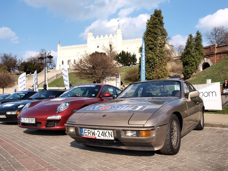 Porsche Fans Convention Lublin 2012: 13-15th April 2012, Lublin, Poland Stock Photo - 13141529