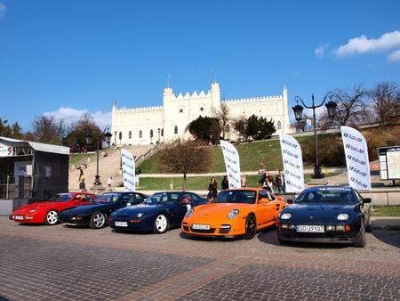 Porsche Fans Convention Lublin 2012: 13-15th April 2012, Lublin, Poland Stock Photo - 13141531