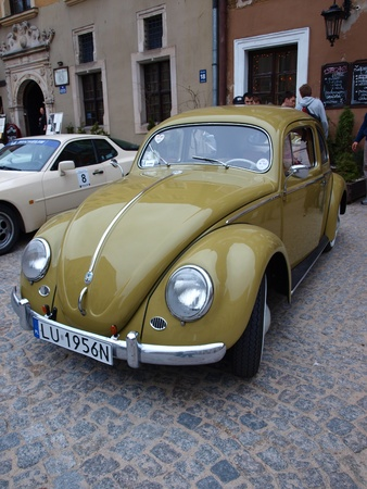 Volkswagen Type 1 at the Porsche Fans Convention, Lublin, Poland, April 14th 2012