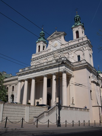 lubelszczyzna: The Cathedral of Saint John The Baptist and The Evangelist also known as the sanctuary of the Weeping Madonna, Lublin, Poland