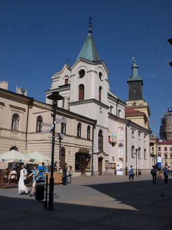 The church of the Holy Spirit in Lublin, Poland Stock Photo - 13365559