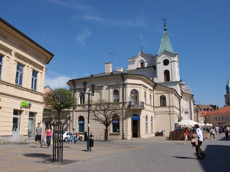 The church of the Holy Spirit in Lublin, Poland Stock Photo - 13365561