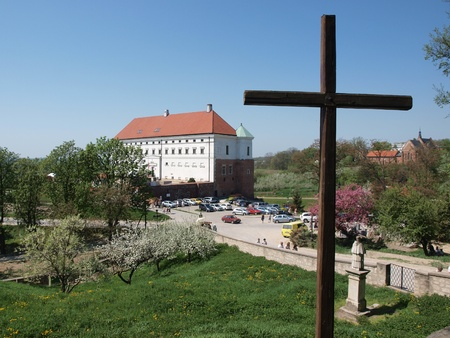 The royal castle, Sandomierz, Poland, May 1st 2012, the home of the regional museum. Stock Photo - 13436738
