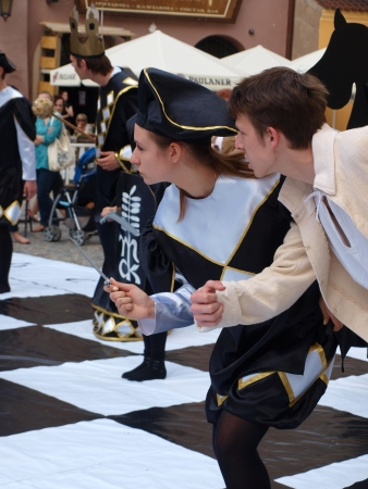 Live chess performed during IV European Chess Festival Lublin 2012 (May 19th - June 10th 2012), Lublin, Poland May 24th