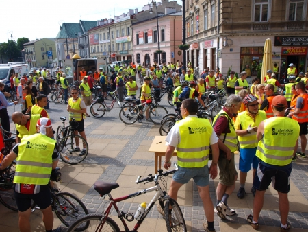 II Cycling Parade Lublin-Naleczow 2012, Lublin, Poland, 26th May 2012 Stock Photo - 13795377