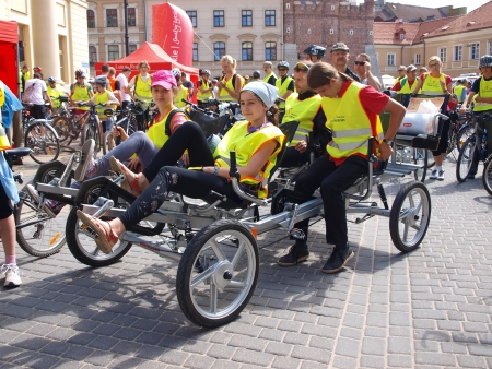 II Cycling Parade Lublin-Naleczow 2012, Lublin, Poland, 26th May 2012