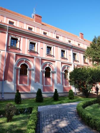The post-benedictine monastery with the church of St  Michael The Archangel, Sandomierz, Poland photo