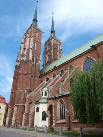 The cathedral of St John The Baptist, Wroclaw, Poland photo
