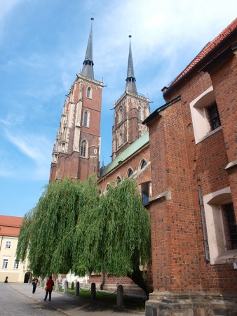 The cathedral of St John The Baptist, Wroclaw, Poland Stock Photo - 14141942