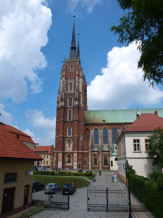 The cathedral of St John The Baptist, Wroclaw, Poland