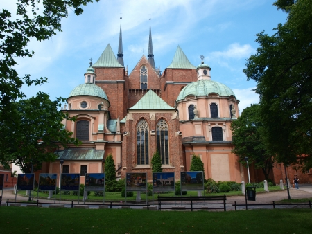 Cathedral of St  John The Baptist, Wroclaw, Poland Stock Photo - 14141946