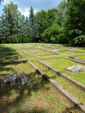 liberating: Graves of the soldiers of the Red Army who died liberating Poland, Kazimierz Dolny, Poland