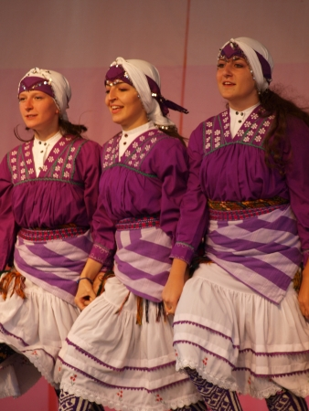 The performance of the folk group Kocaeli Armelit from Turkey during the 27th edition of the International Folklore Meetings Lublin 2012 (12th-15th July 2012), Lublin, Poland, July 12th 2012 Editorial
