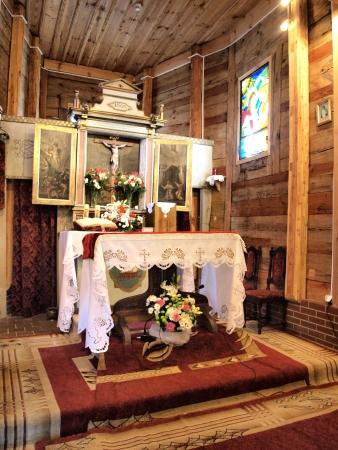 Holy Cross church in Smarchowice Slaskie, Poland